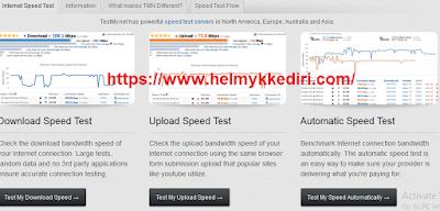 Situs untuk mengukur kecepatan internet 3