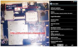 PALMA W2 Tab ( B706_MB_1.3 ) MT6572 Flash File