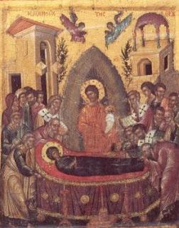 Ἡ Κοίμησις τῆς Ὑπεραγίας Θεοτόκου 15 Αυγούστου