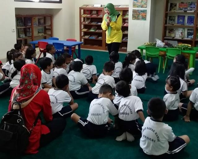 Library Tour, Wisata Edukasi Anak Usia Dini