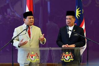 Kunjungan Menhan ke Malaysia