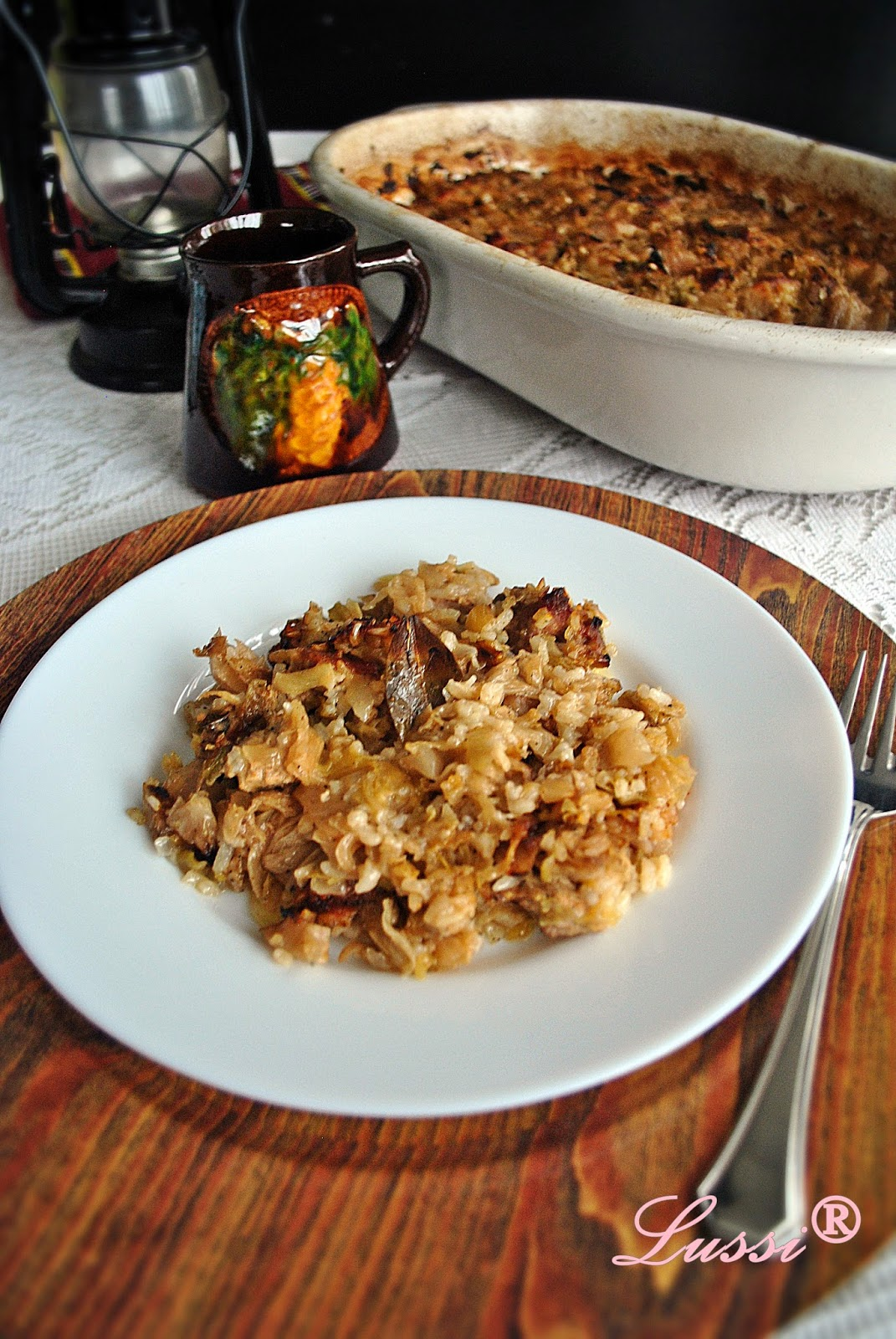Бързо свинско със зеле на фурна / Easy Pork and Sauerkraut Recipe