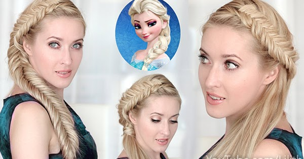 elsa hair style lilith moon frozen elsa s hairstyles tutorials big braid 1554