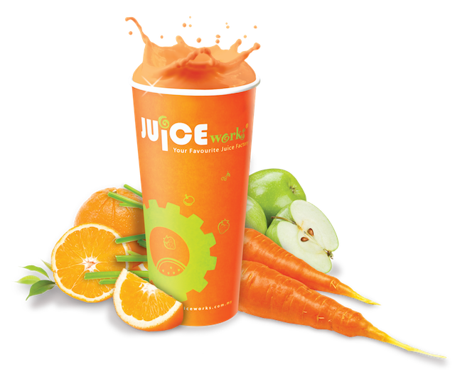 My favourite juice from Juice Works - the Immuno Kick