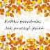 Krótki poradnik: Jak przeżyć jesień