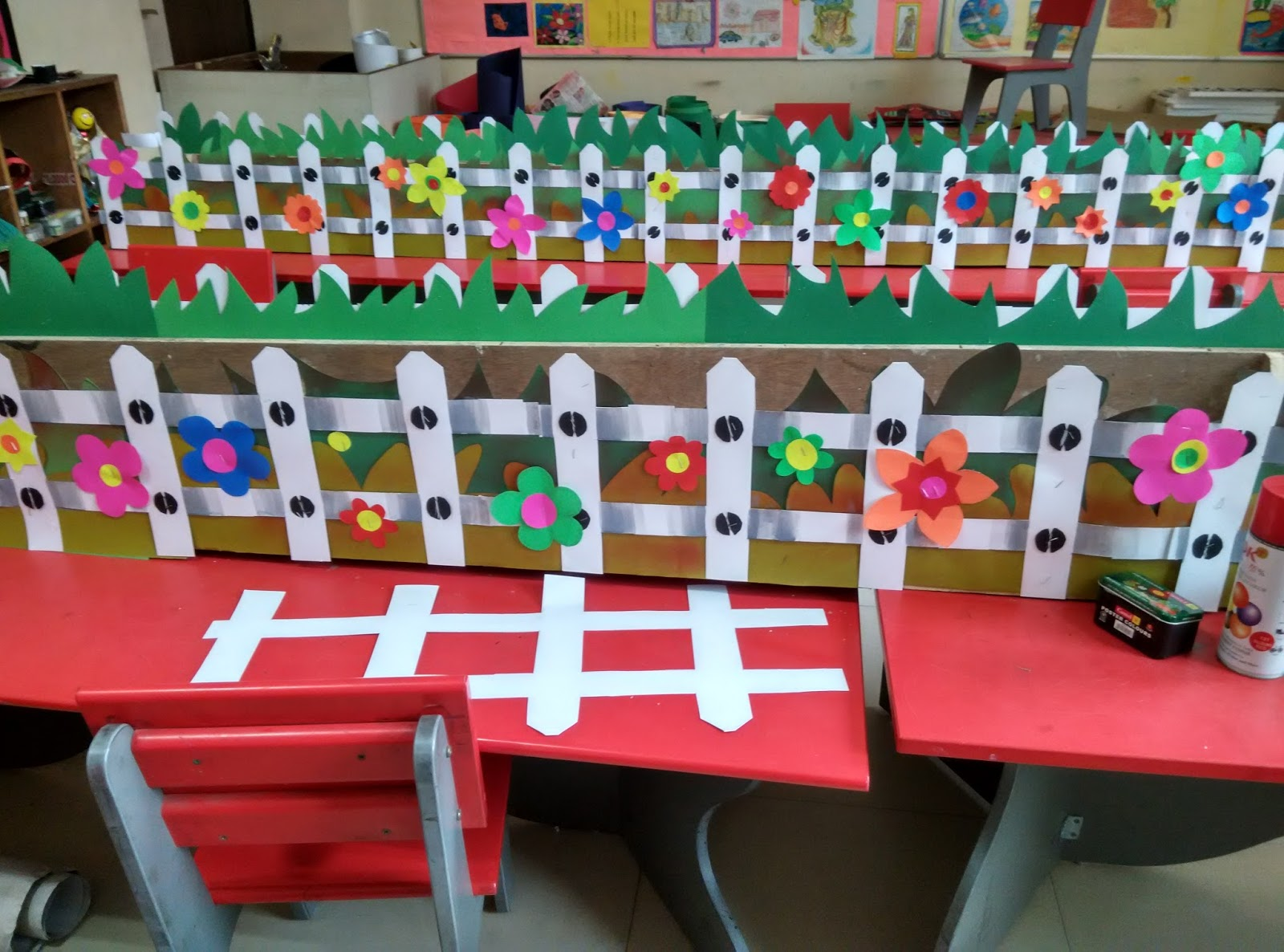 Art Craft Ideas And Bulletin Boards For Elementary Schools Floral