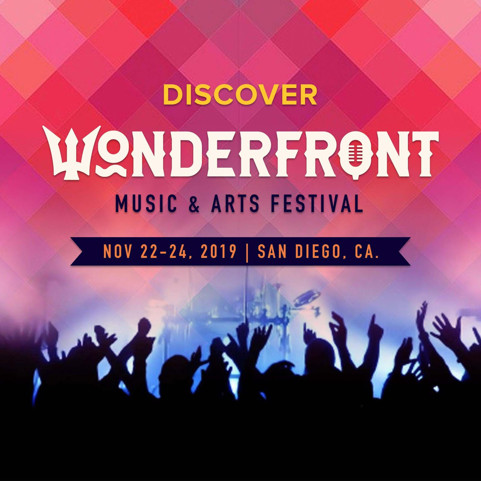 Enter to win 2 weekend passes to the Wonderfront Music & Arts Festival - November 22-24!