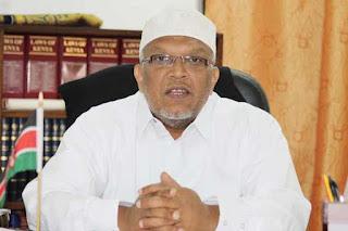 Chief Kadhi Sheikh Sharif Ahmed said Ramadhan will start tomorrow. PHOTO | Courtesy