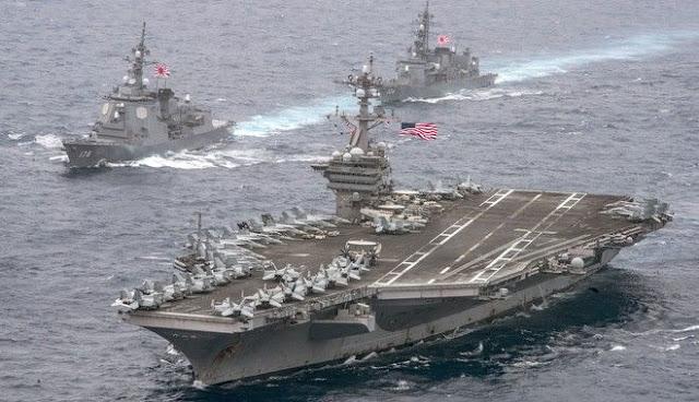 Απίστευτο φιάσκο με την αρμάδα με επικεφαλής το USS Carl Vinson: Ο Ν. Τραμπ τους έστειλε προς τη Β. Κορέα κι εκείνοι έπλευσαν προς Αυστραλία