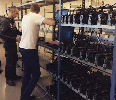 Mining Bitcoin dan Ethereum di Hashflare