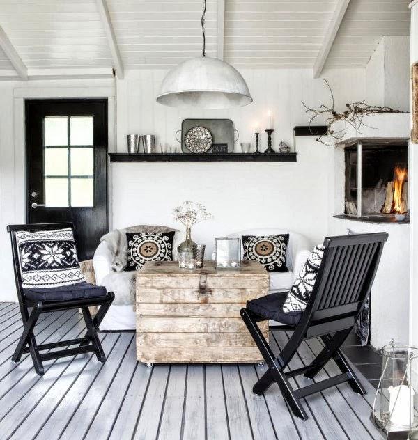 home garden ambiance scandinave au bord de l 39 eau. Black Bedroom Furniture Sets. Home Design Ideas