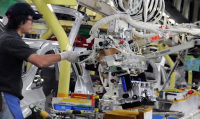 Crescimentos da mão de obra estrangeira na região Tokai