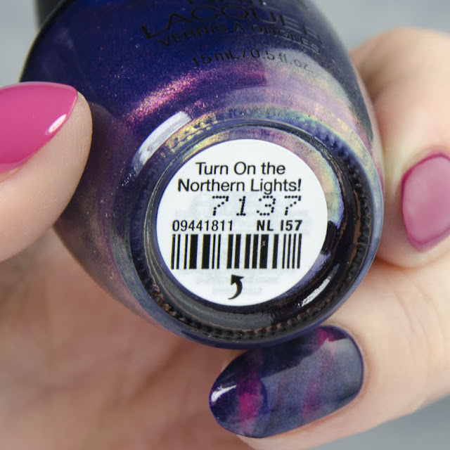 "OPI ""Turn On The Northern Lights!"" swatch"