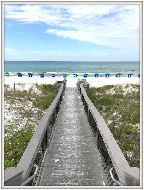 Miramar Beach-Beach Walkway-Florida-Sundays by the Shore-From My Front Porch To Yours