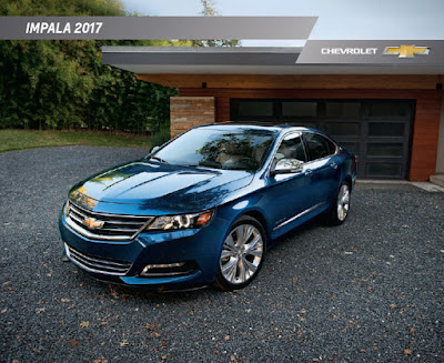 Downloadable 2017 Chevrolet Impala Brochure