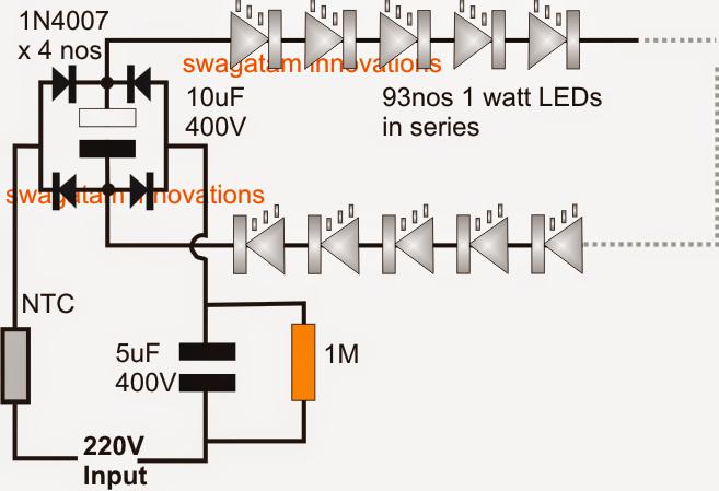 12v 60w Led Circuit Diagram | Circuit Diagram Images
