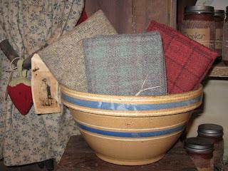 Rachel S Farmhouse Wool Amp Yellowware