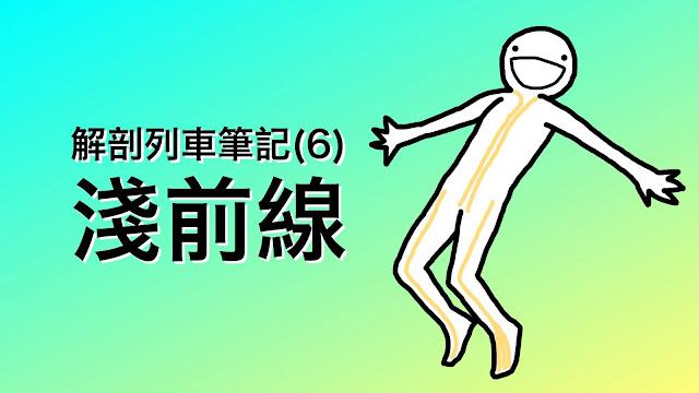 好痛痛 解剖列車 淺前線 姿勢 筋膜 肌筋膜 彎腰駝背 抬頭挺胸 情緒 骨盆前傾 骨盆前移