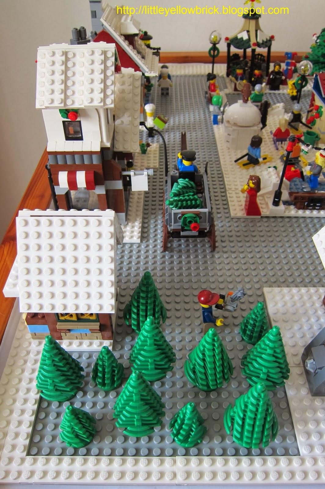 little yellow brick a lego blog our lego winter village LEGO Creator Winter Cottage 10229 Adriana Ave Cupertino CA