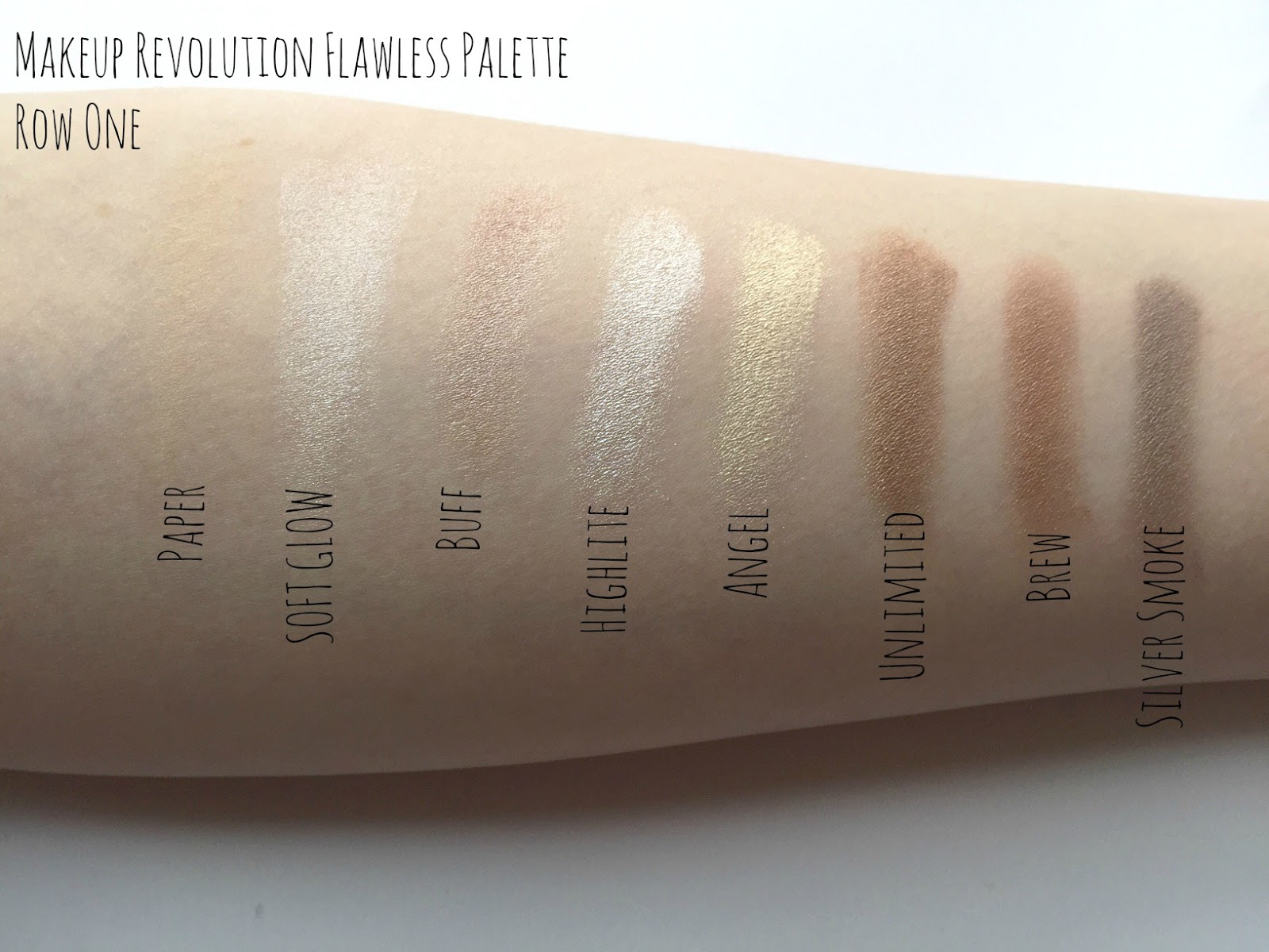 Makeup revolution foundation ingredients