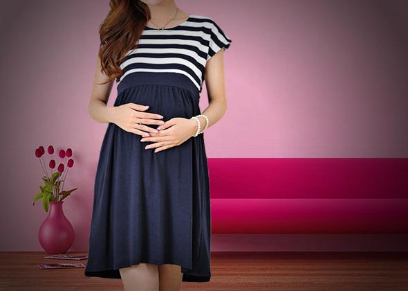 gaya busana ibu hamil agar terlihat modis