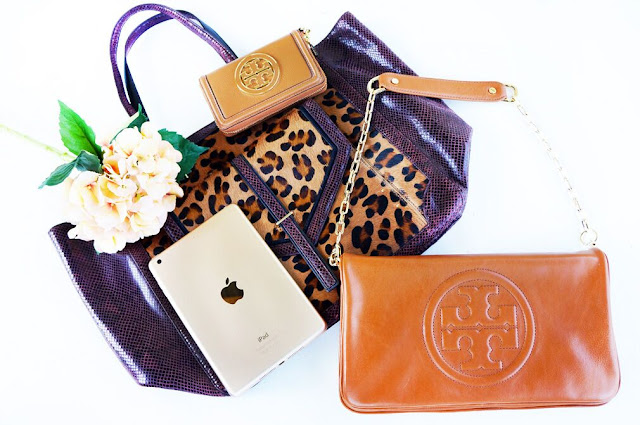 tory burch gold iPad giveaway