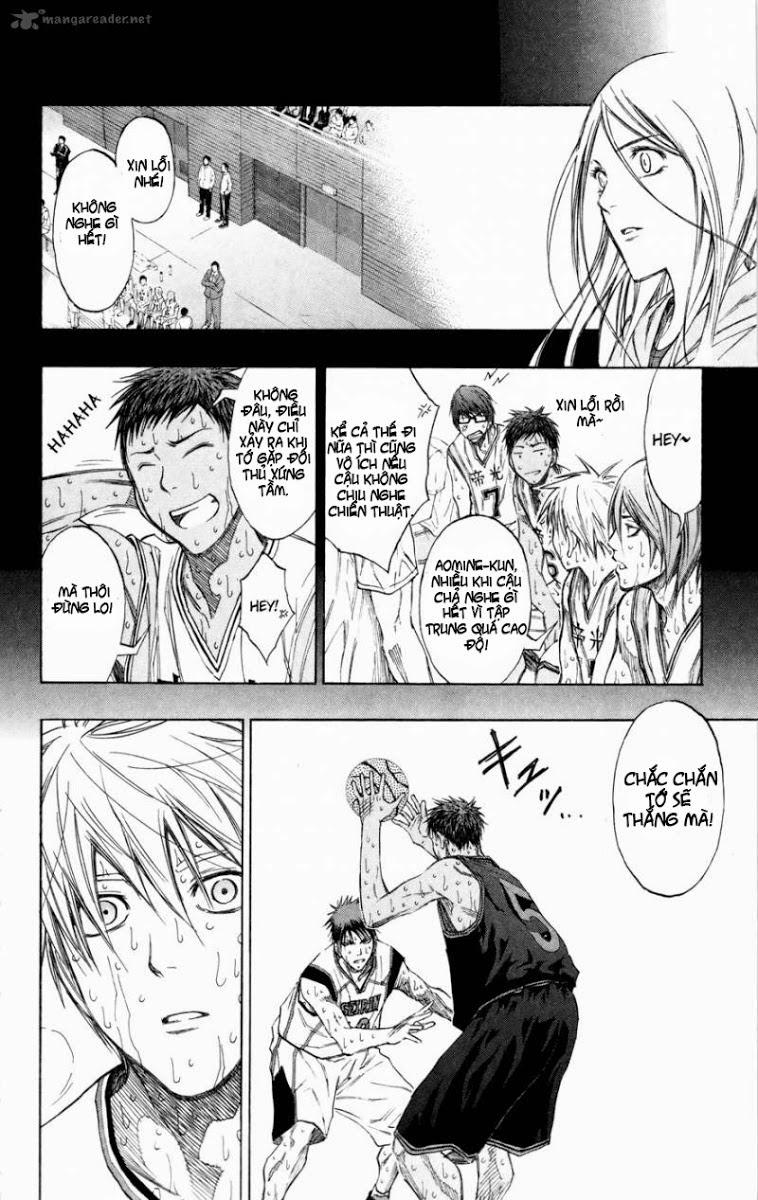 Kuroko No Basket chap 130 trang 17