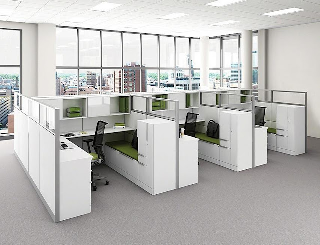 best buy white modern modular office furniture Montreal QC for sale