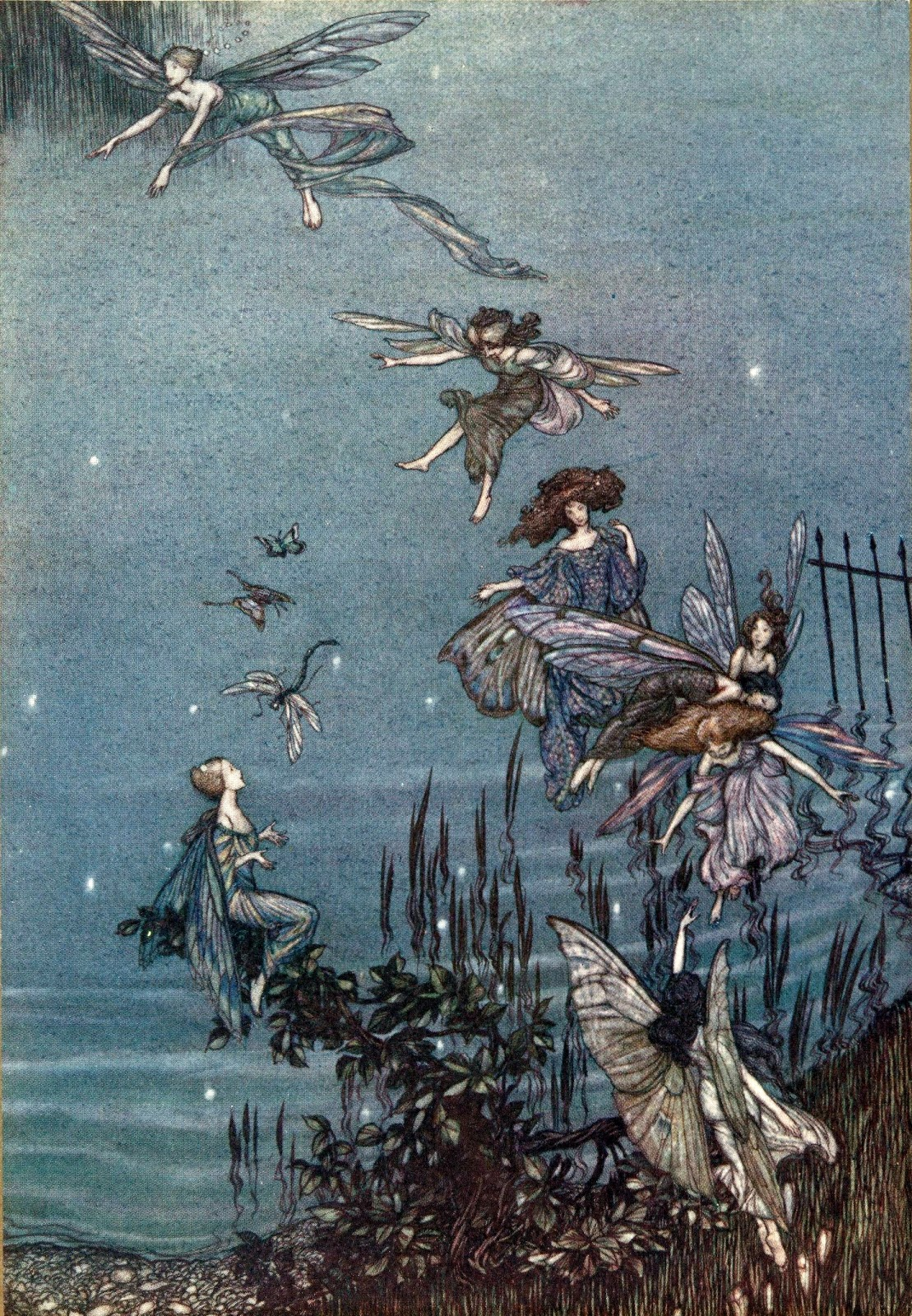 Art Of Narrative Arthur Rackhams Fairies Trees And Peter Pan