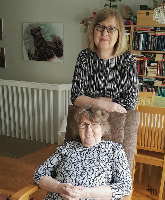 äiti ja tytär - lady of the mess ja hänen äitinsä