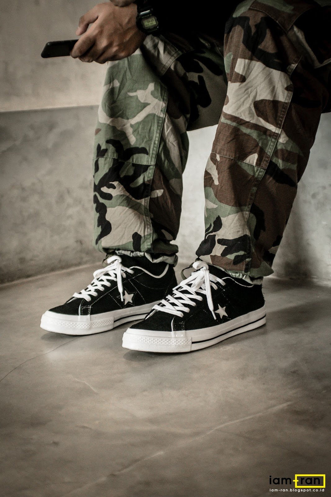 Converse ONE STAR metallico