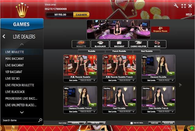 Rollex Casino by Playtech