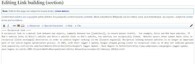 Wikipedia Edit Link