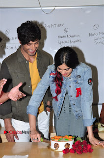 Vidyut Jamwal Adah Sharma Commando 2 Movie Team at Radio Mirchi 95  0019.jpg