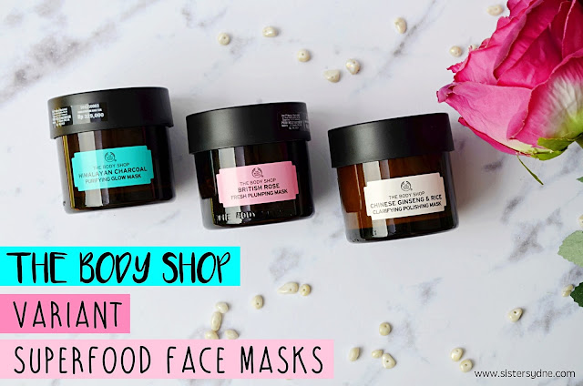 Superfood face mask the body shop variant