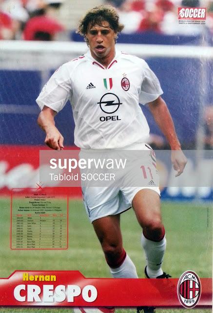 Hernan Crespo AC Milan 2004