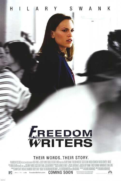 techniques of the movie freedom writers Freedom writers script taken from a transcript of the screenplay and/or the hilary swank movie.