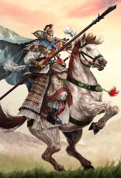 ม้าเฉียว (Ma Chao, 馬超)