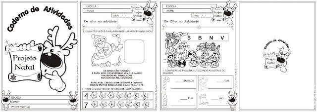 Caderno de Atividades Projeto Natal
