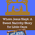 Where Jesus Slept: A Sweet Nativity Story for Little Ones  (And Literacy Musing Mondays Linkup)