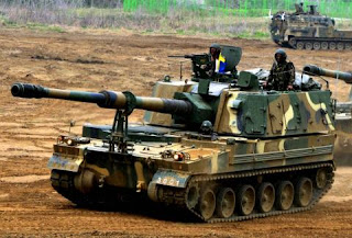 India Displays M777 Howitzer, K9 Vajra Artillery Guns at Republic Day Parade to it's Neighbours