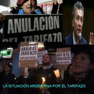 Argentina, campeona de los tarifazos