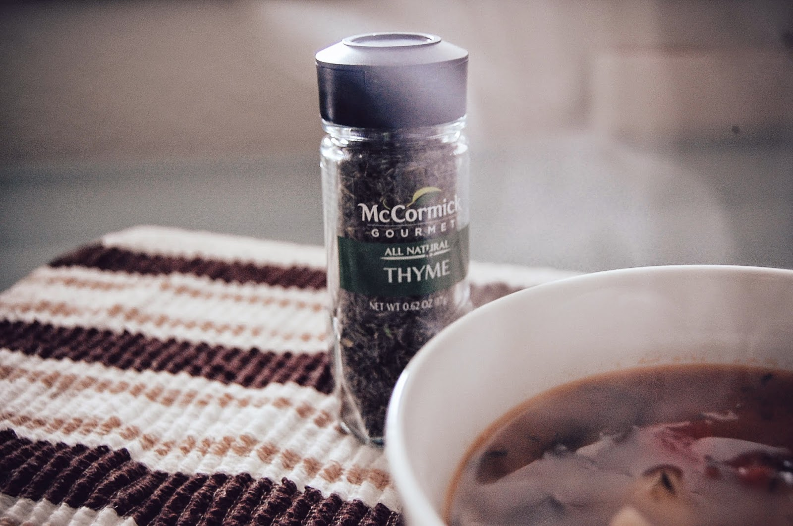 McCormick Thyme and soup