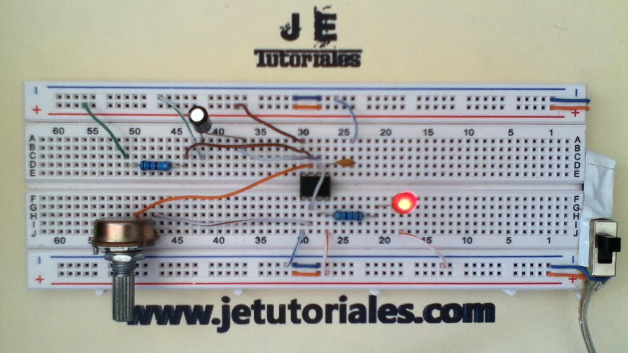 Circuito Oscilador 555 : Circuito integrado lineal temporizador steren tienda en