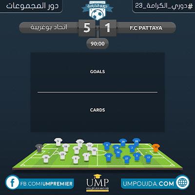 كلية العلوم : دوري الكرامة 23 - دور المجموعات - الجولة الثانية - مباراة 21