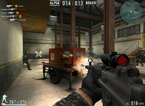 لعبة الحرب واطلاق النار الاسلحة القتالية Combat Arms للكمبيوتر اون لاين