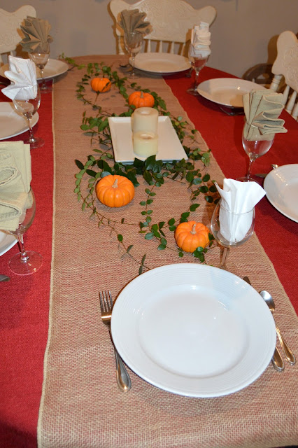 Thanksgiving, Table, Tablescape