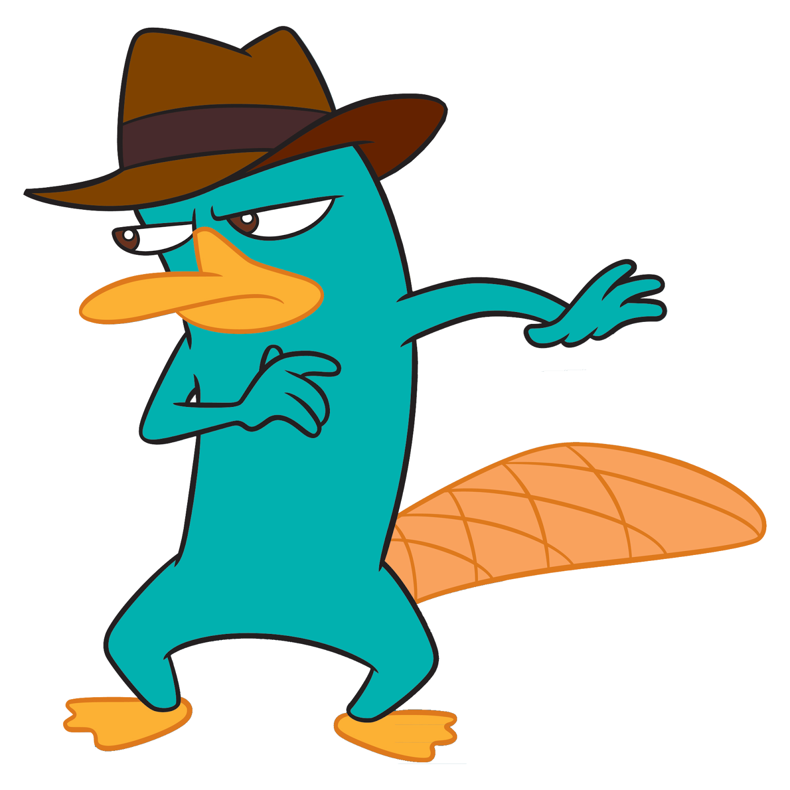 Render Perry el ornitorrinco