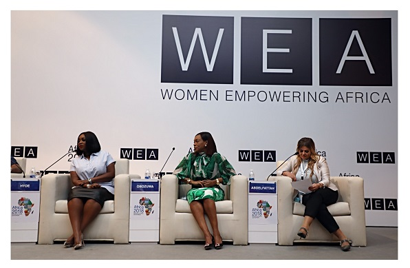 Peace Hyde Speaks On Gender Parity In Media At The Africa 2018 Forum In Egypt