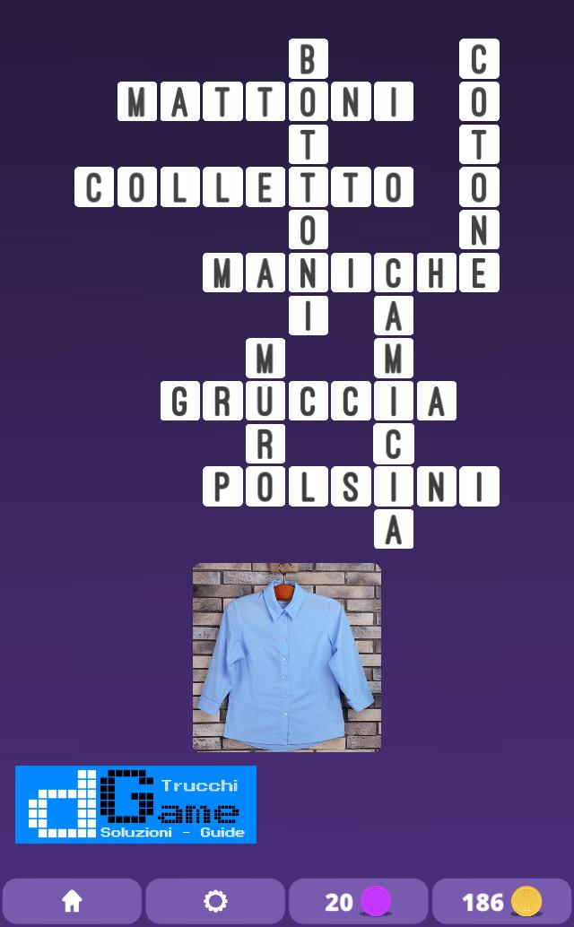 Soluzioni One Clue Crossword livello 5 schemi 7 (Cruciverba illustrato)  | Parole e foto